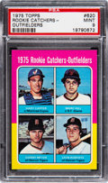 Baseball Cards:Singles (1970-Now), 1975 Topps Gary Carter - Rookie Catchers/Outfielders #620 ...