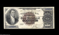 Large Size:Silver Certificates, Fr. 341 $100 1880 Silver Certificate About New. Only 23 examples ofthis number are known, and this is one of the very nices...