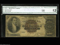 Large Size:Silver Certificates, Fr. 341 $100 1880 Silver Certificate CGA Fine 12. This $100 Silvertype is rare for all numbers and in all grades. Just fewe...