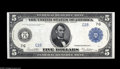 "Large Size:Federal Reserve Notes, Fr. 871a $5 1914 Federal Reserve Note Gem New. From our sale of the Malcolm Trask Collection, where it was described, ""This ..."