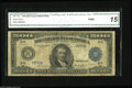 Large Size:Federal Reserve Notes, Fr. 1132 $500 1918 Federal Reserve Note CGA Fine 15. St. Louis is a rare district for Large Size $500 Feds with only four ex...