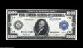 Large Size:Federal Reserve Notes, Fr. 1133a $1000 1918 Federal Reserve Note Extremely Fine. This is the eighth known example of this Burke-Houston signed Thou...