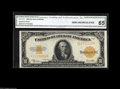 Large Size:Gold Certificates, Fr. 1173 $10 1922 Gold Certificate CGA Gem Uncirculated 65.Gorgeous color and rather nice margin are features of this Gem-g...