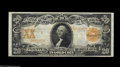 Large Size:Gold Certificates, Fr. 1182 $20 1906 Gold Certificate Choice Very Fine. Fewer than 50 examples of this number are known, and this perfectly nat...