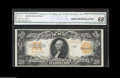 Large Size:Gold Certificates, Fr. 1187 $20 1922 Gold Certificate CGA Gem Uncirculated 68. The original embossing is readily apparent through the third-par...