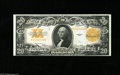 Large Size:Gold Certificates, Fr. 1187 $20 1922 Gold Certificate Choice New. The deepgolden-orange overprint is well embossed and adds much to theoveral...