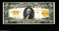 Large Size:Gold Certificates, Fr. 1187 $20 1922 Gold Certificate About New. A light center fold and a little corner handling away from the Choice New grad...
