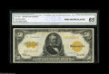 Large Size:Gold Certificates, Fr. 1200 $50 1922 Gold Certificate CGA Gem Uncirculated 65. Hugelymargined, with ideal color and original embossing that ca...