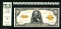 Large Size:Gold Certificates, Fr. 1200 $50 1922 Gold Certificate PCGS Extremely Fine 40. Broadly margined and with excellent color....