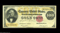 Large Size:Gold Certificates, Fr. 1214 $100 1882 Gold Certificate Fine-Very Fine. A well margined, brightly colored, problem-free example of the grade....