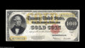 Large Size:Gold Certificates, Fr. 1215 $100 1922 Gold Certificate Fine-Very Fine. Brighter than these usually come, but the surfaces are a bit soft, altho...