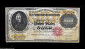 Large Size:Gold Certificates, Fr. 1225 $10000 1900 Gold Certificate New. A fully uncirculatedexample of a canceled ultra-high denomination note. It shows...