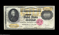 Large Size:Gold Certificates, Fr. 1225 $10000 1900 Gold Certificate Very Fine-Extremely Fine.Punch canceled at the left end but free of the water marks t...