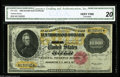 Large Size:Gold Certificates, Fr. 1225 $10000 1900 Gold Certificate CGA Very Fine 20. A bright example of this canceled and unredeemable ultra-high-denomi...