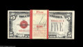 Small Size:Legal Tender Notes, Fr. 1530 $5 1928E Legal Tender Notes. Original Pack of 100. Choice-Gem Crisp Uncirculated. A bank fresh pack of 100 consecu... (100 notes)