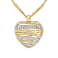 Estate Jewelry:Necklaces, Diamond, Sapphire, Gold Pendant-Necklace, Roberto Coin. ...
