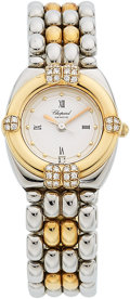 Estate Jewelry:Watches, Chopard Lady's Diamond, Gold Gstaad Watch . ...