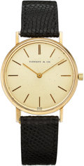 Estate Jewelry:Watches, Universal Geneve Gentleman's Gold Watch, retailed by Tiffany & Co.. ...
