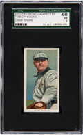 Baseball Cards:Singles (Pre-1930), 1909-11 T206 Piedmont Cy Young (Glove Shows) SGC 60 EX 5.