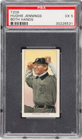 Baseball Cards:Singles (Pre-1930), 1909-11 T206 Sweet Caporal Hughie Jennings (Both Hands) PS...