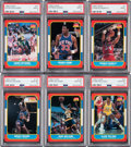 Basketball Cards:Lots, 1986 Fleer Basketball PSA-Graded Collection (24) With BarkleyRookie Plus Wrappers. ...