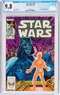 Modern Age (1980-Present):Science Fiction, Star Wars #76 (Marvel, 1983) CGC NM/MT 9.8 White pages....
