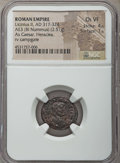 Ancients:Ancient Lots , Ancients: ANCIENT LOTS. Roman Imperial. Constantine Era (AD317-363). Lot of three (3) AE issues. NGC Choice VF-Choice AU 5/5 -4/5.... (Total: 3 coins)