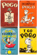 Memorabilia:Comic-Related, Pogo Related Short Box Group (Various Publishers)....