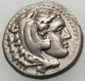 Ancients:Greek, Ancients: MACEDONIAN KINGDOM. Alexander III the Great (336-323 BC).AR drachm (4.16 gm).About XF....