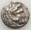 Ancients:Greek, Ancients: SELEUCID KINGDOM. Seleucus I Nicator (312-281 BC). ARtetradrachm (16.38 gm). Choice VF....