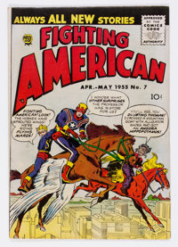 Fighting American #7 (Prize, 1955) Condition: VG/FN