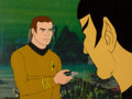 Movie/TV Memorabilia:Original Art, Star Trek: The Animated Series Captain Kirk and SpockProduction Cel Setup (Filmation, 1974). ...