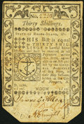 Colonial Notes, Rhode Island May 1786 30s Very Fine-Extremely Fine.. ...