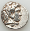 Ancients:Greek, Ancients: MACEDONIAN KINGDOM. Alexander III the Great (336-323 BC).AR tetradrachm (17.11 gm). About VF....
