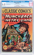 Golden Age (1938-1955):Horror, Classic Comics #18 1B Island Publishing Variant - The Hunchback ofNotre Dame (Gilberton, 1944) CGC FN 6.0 Cream to off-white ...