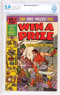 Win A Prize Comics #1 (Charlton, 1955) CBCS VG/FN 5.0 Off-white to white pages
