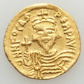 Ancients:Byzantine, Ancients: Phocas (AD 602-610). AV solidus (4.46 gm). About XF....