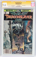 Modern Age (1980-Present):Humor, Dragonslayer #1 Signature Series (Marvel, 1981) CGC NM+ 9.6 Whitepages....