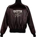 Music Memorabilia:Costumes, Led Zeppelin Promo Jacket (Circa 1983)....