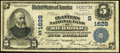 National Bank Notes:Virginia, Richmond, VA - $5 1902 Date Back Fr. 591 The Planters NB Ch. #(S)1628. ...