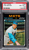 Baseball Cards:Singles (1970-Now), 1971 Topps Tom Seaver #160 PSA NM-MT+ 8.5. Offered...