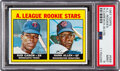 Baseball Cards:Singles (1960-1969), 1967 Topps Rod Carew - A. L. Rookies #569 PSA Mint 9. ...