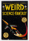 Golden Age (1938-1955):Science Fiction, Weird Science-Fantasy Annual #2 (EC, 1953) Condition: ApparentVG+....
