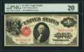 Large Size:Legal Tender Notes, Fr. 37 $1 1917 Legal Tender PMG Very Fine 20....