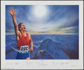 """Autographs:Others, 1994 """"Victory"""" Signed Lithograph with Neil Armstrong, Muhammad Aliand Others.. ..."""