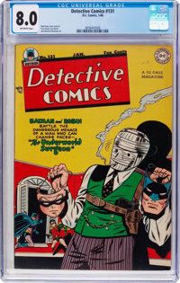 Detective Comics #131 (DC, 1948) CGC VF 8.0 Off-white pages