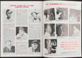 Autographs:Others, 1980 Satchel Paige Signed Springfield Redbirds Program.. ...