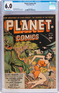 Golden Age (1938-1955):Science Fiction, Planet Comics #25 (Fiction House, 1943) CGC FN 6.0 Off-whitepages....
