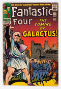 Silver Age (1956-1969):Superhero, Fantastic Four #48 (Marvel, 1966) Condition: PR....