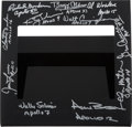 Explorers:Space Exploration, From the Earth to the Moon Emmy Judge Presentation Signed by Eleven Apollo Astronauts including Five Moonwalkers. ...